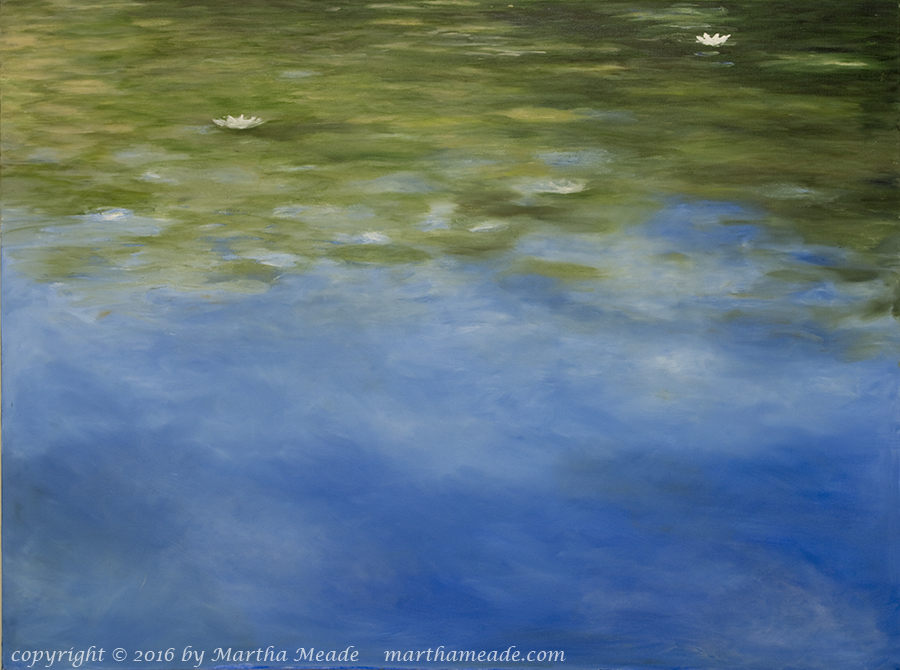 As Above, So Below<br/>30 x 40 x 1.25<br/>oil on canvas<br/>Available, contact me for details